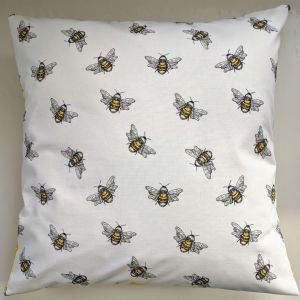 "16"" Bumble Bee Cushion Cover"